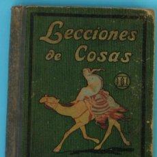 Libros antiguos: LECCIONES DE COSAS II. I. G. SEIX BARRAL HNOS. BARCELONA, 1933.. Lote 35761363