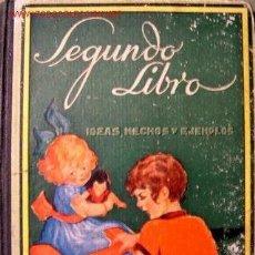 Libros antiguos: SEGUNDO LIBRO IDEAS HECHOS Y EJEMPLOS 1935. Lote 35823761