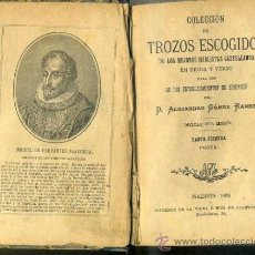 Libros antiguos: GÓMEZ RANERA : TROZOS ESCOGIDOS EN PROSA Y VERSO (1898). Lote 35915863