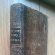 Libros antiguos: 1850 NOVISIMO MANUAL EPISTOLAR O COLECCION MODELOS CARTAS. Lote 36971338