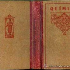 Libros antiguos: ELEMENTOS DE QUÍMICA (FTD , S/F). Lote 44386443