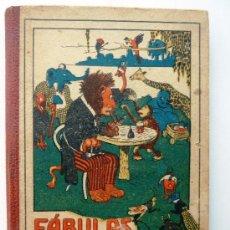 Libros antiguos: ANTIGUO LIBRO DE FABULAS DE SAMANIEGO DE LA EDITORIAL SATURNINO CALLEJA.. Lote 37906442