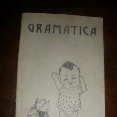 Libros antiguos: ANTIGUO LIBRO LECCIONES DE GRAMATICA DE 1918 - EZEQUIEL SOLANA- EDIT. MAGISTERIO ESPAÑOL. Lote 38196086