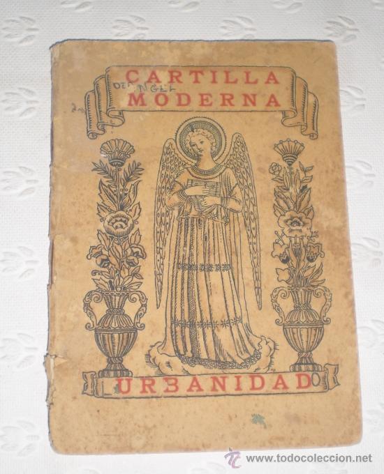 CARTILLA MODERNA DE URBANIDAD. PARA NIÑAS. 1928. EDITORIAL FTD BARCELONA. (Libros Antiguos, Raros y Curiosos - Libros de Texto y Escuela)