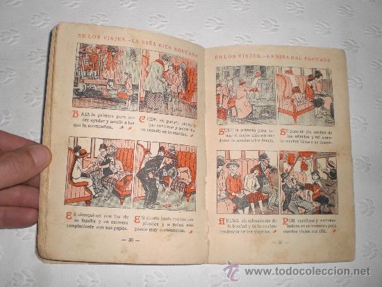 Libros antiguos: Cartilla moderna de urbanidad. Para niñas. 1928. Editorial FTD Barcelona. - Foto 2 - 50510766