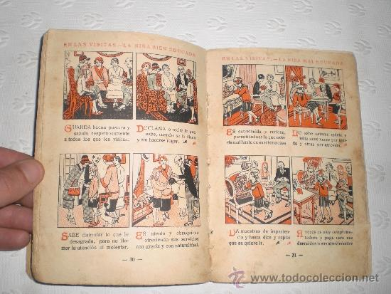 Libros antiguos: Cartilla moderna de urbanidad. Para niñas. 1928. Editorial FTD Barcelona. - Foto 3 - 50510766