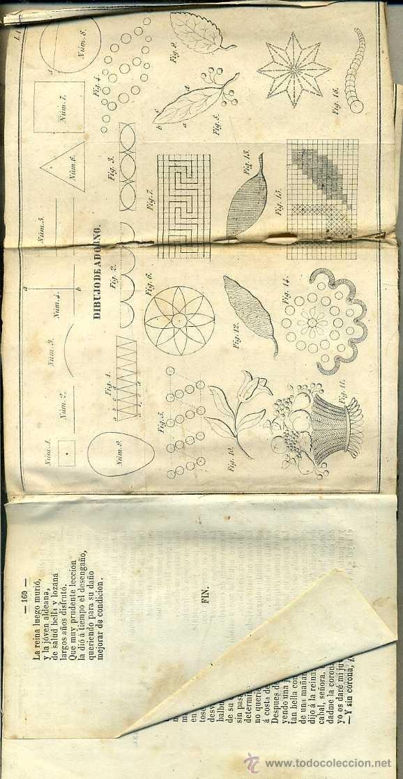Libros antiguos: ECONOMÍA Y LABORES PARA USO DE LAS NIÑAS (GONZÁLEZ, 1866) CON DOS DESPLEGABLES - Foto 2 - 39329435