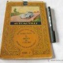 Libros antiguos: BLOQUES PARA PINTAR INSTRUCTIVOS - 8 DIBUJOS EN COLORES - EDITADO POR JUAN BARGUÑO - AUTOMOVILES. Lote 39394115