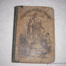 Libros antiguos: ESCRITURA Y LENGUAJE DE ESPAÑA 1874 . ESTEBAN PALUZIE. Lote 39864938