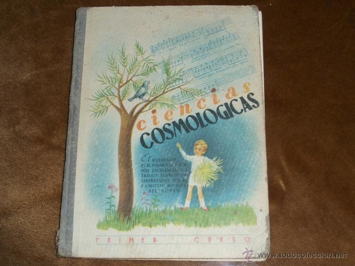 CIENCIAS COSMOLOGICAS (Libros Antiguos, Raros y Curiosos - Libros de Texto y Escuela)