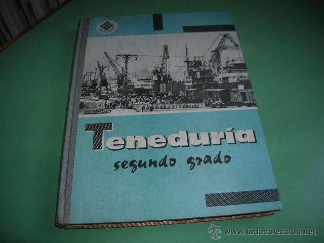 LIBRO TENEDURIA SEGUNDO GRADO (Libros Antiguos, Raros y Curiosos - Libros de Texto y Escuela)