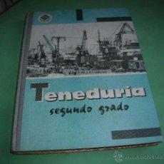 Libros antiguos: LIBRO TENEDURIA SEGUNDO GRADO. Lote 40022405