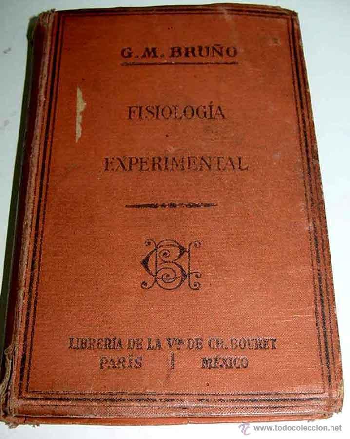 fisiologia experimental con nociones de anatomi - Comprar Libros ...