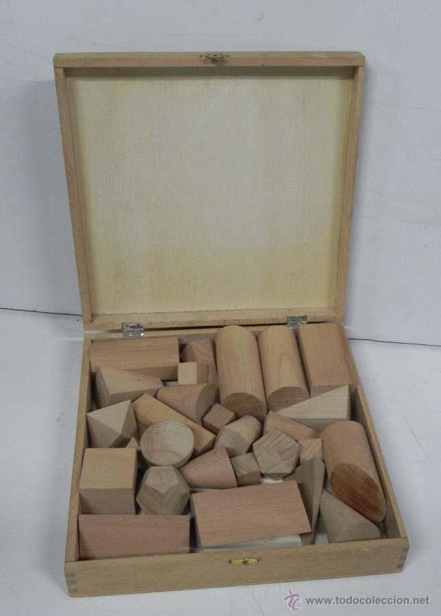 Antigua caja de madera con figuras geometricas comprar - Caja madera antigua ...