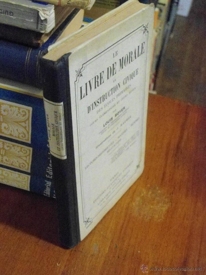 Libros antiguos: LE LIVRE DE MORALE ET D´INSTRUCTION CIVIQUE. 1935 - Foto 4 - 40369202