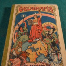 Livres anciens: GEOGRAFIA NIÑOS - E. PALUZIE - 1922 - TEXTO ESCOLAR - DIBUJOS Y MAPAS - BARCELONA -. Lote 40428416