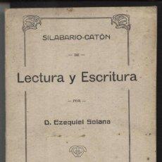 Libros antiguos: SOLANA, EZEQUIEL / LECTURA Y ESCRITURA. Lote 40449234