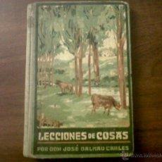 Libros antiguos: LECCIONES DE COSAS-JOSÉ DALMAU CARLES-LIBRO TERCERO-1930. Lote 40574621