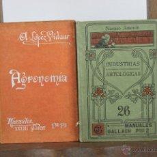 Libros antiguos: 4394- LOTE DE 13 LIBROS ESCOLARES. 1884/1918. VARIAS EDITORIALES Y AUTORES. . Lote 41318886
