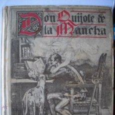 Libros antiguos: DON QUIJOTE DE LA MANCHA, ED, SATURNINO CALLEJA AÑO 1905 TOTALMENTE NUEVO. Lote 41774503