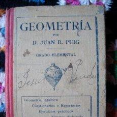 Libros antiguos: GEOGRAFIA GRADO ELEMENTAL DALMAU CARLES 1920. Lote 41778276
