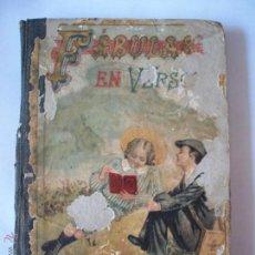 Libros antiguos: FABULAS EN VERSO CASTELLANO DE SAMANIEGO 1899, SATURNINO CALLEJA. Lote 41800072