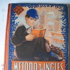 Libros antiguos: METODO DE INGLES 2º GRADO, ED. LUIS VIVES,1948. Lote 41843461