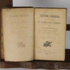 Libros antiguos: D-128. LECTURA ESCOGIDA PARA USO DE LAS ESCUELAS. TIP. CATOLICA. 1881. . Lote 41938644