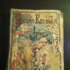 Libros antiguos: TESORO ESCOLAR. HIJOS DE SANTIAGO RODRIGUEZ. BURGOS. 1899. OBRA ELEMENTAL DE EDUCACIÓN.. Lote 42466071
