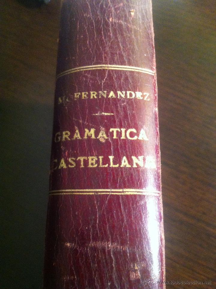 Libros antiguos: Tratado elemental de gramática castellana. D. Manuel Fernández y Fernández-Navamuel. Madrid, 1909. - Foto 2 - 42466714