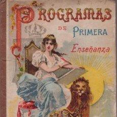 Libros antiguos: YEVES, CARLOS: GEOMETRIA Y DIBUJO. PROGRAMAS DE PRIMERA ENSEÑANZA.1920. Lote 41600614