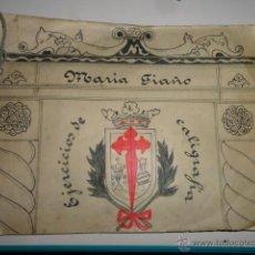 Livres anciens: CUADERNO EJERCICIOS DE CALIGRAFÍA,MARIA FIAÑO POSIBLEMENTE DE LOS AÑOS 20. Lote 42890933