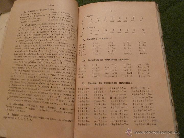 Libros antiguos: f 2126 LIBRO DE ARITMETICA. POR F.T.D. PRIMER GRADO. EDITORIAL F.T.D. BARCELONA, 1925. - Foto 2 - 43428575