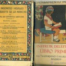 Libros antiguos: INSTRUIR DELEITANDO - SATURNINO CALLEJA C. 1900. Lote 44003220