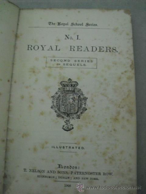 Libros antiguos: ROYAL READERS Nº 1 - T.NELSON AND SONGS, PATERNOSTER ROW, ENGLAND, 1908 - Foto 1 - 44068780