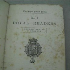 Libros antiguos: ROYAL READERS Nº 1 - T.NELSON AND SONGS, PATERNOSTER ROW, ENGLAND, 1908. Lote 44068780
