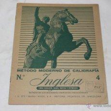 Libros antiguos: METODO MODERNO DE CALIGRAFIA INGLESA, LIBRERIA BELLIDO MURCIA. Lote 44149091