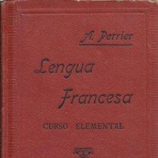 Libros antiguos: LENGUA FRANCESA, CURSO ELEMENTAL. Lote 44269850