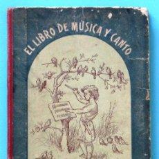 Libros antiguos: EL LIBRO DE MÚSICA Y CANTO. SOLFEO Y CANTOS ESCOLARES. JUAN BALCELL Y ROCA. EDITORIAL BASTINOS, 1902. Lote 44376344