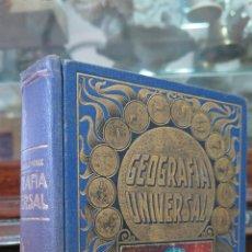 Libros antiguos: GEOGRAFIA UNIVERSAL. EDITORIAL RAMON SOPENA. Lote 44393865
