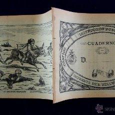 Libros antiguos: INSTRUCCION PUBLICA. CUADERNO DÉCIMO DE CALIGRAFIA (AMARILLO). ORIGINAL DE EPOCA. BELLVER, JÁTIVA.. Lote 244181640