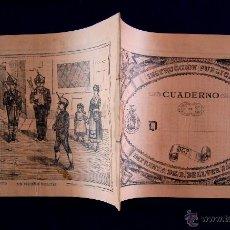 Libros antiguos: INSTRUCCION PUBLICA. CUADERNO DÉCIMO DE CALIGRAFIA (NARANJA). ORIGINAL DE EPOCA. BELLVER, JÁTIVA.. Lote 244181915