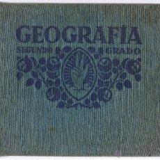 Libros antiguos: GEOGRAFIA - SEGUNDO GRADO - 1931 - EDITORIAL FTD - BARCELONA - . Lote 44994725