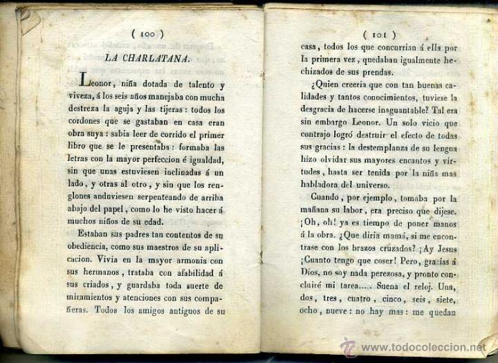 Libros antiguos: EL AMIGO DE LOS NIÑOS O CUENTOS DE BERQUIN (GASPAR, 1828) PERGAMINO - Foto 3 - 45540278