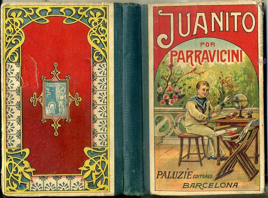 JUANITO POR PARRAVICINI (PALUZIE, 1913) (Libros Antiguos, Raros y Curiosos - Libros de Texto y Escuela)