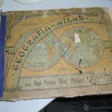 Libros antiguos: GEOGRAFIA ATLAS 1915. Lote 45982750