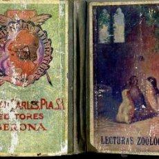 Libros antiguos: GERARDO RODRÍGUEZ GARCÍA : LECTURAS DE ZOOLOGÍA (DALMAU CARLES. 1924) . Lote 46591518
