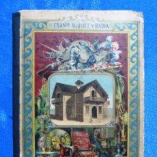 Libros antiguos: LA CASA. LA HABITACIÓN A TRAVES DE LOS TIEMPOS. FRANCISCO MIQUEL Y BADÍA. ANTONIO J. BASTINOS, 1892.. Lote 46749934