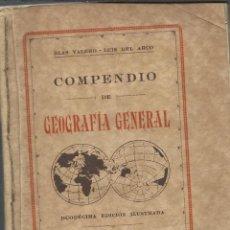 Libros antiguos: COMPENDIO DE GEOGRAFIA DE 1931. Lote 46823658