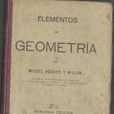 Libros antiguos: LIBRO DE GEOMETRIA DE 1923. Lote 46830669